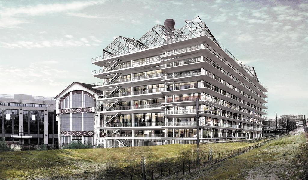 School of architecture paris val de seine image project photographer lacaton vassal